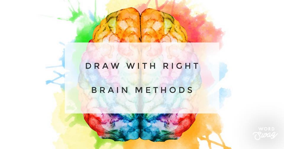 Right Brain Drawing Methods with Annie King