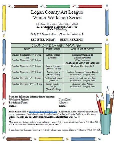 Winter Art Classes