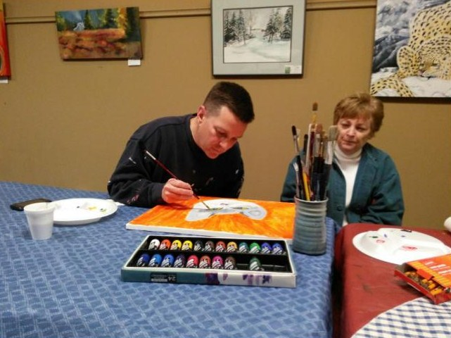 "Spotlighting ""Not So Bad Artist"": Logan County Sheriff Andy Smith"