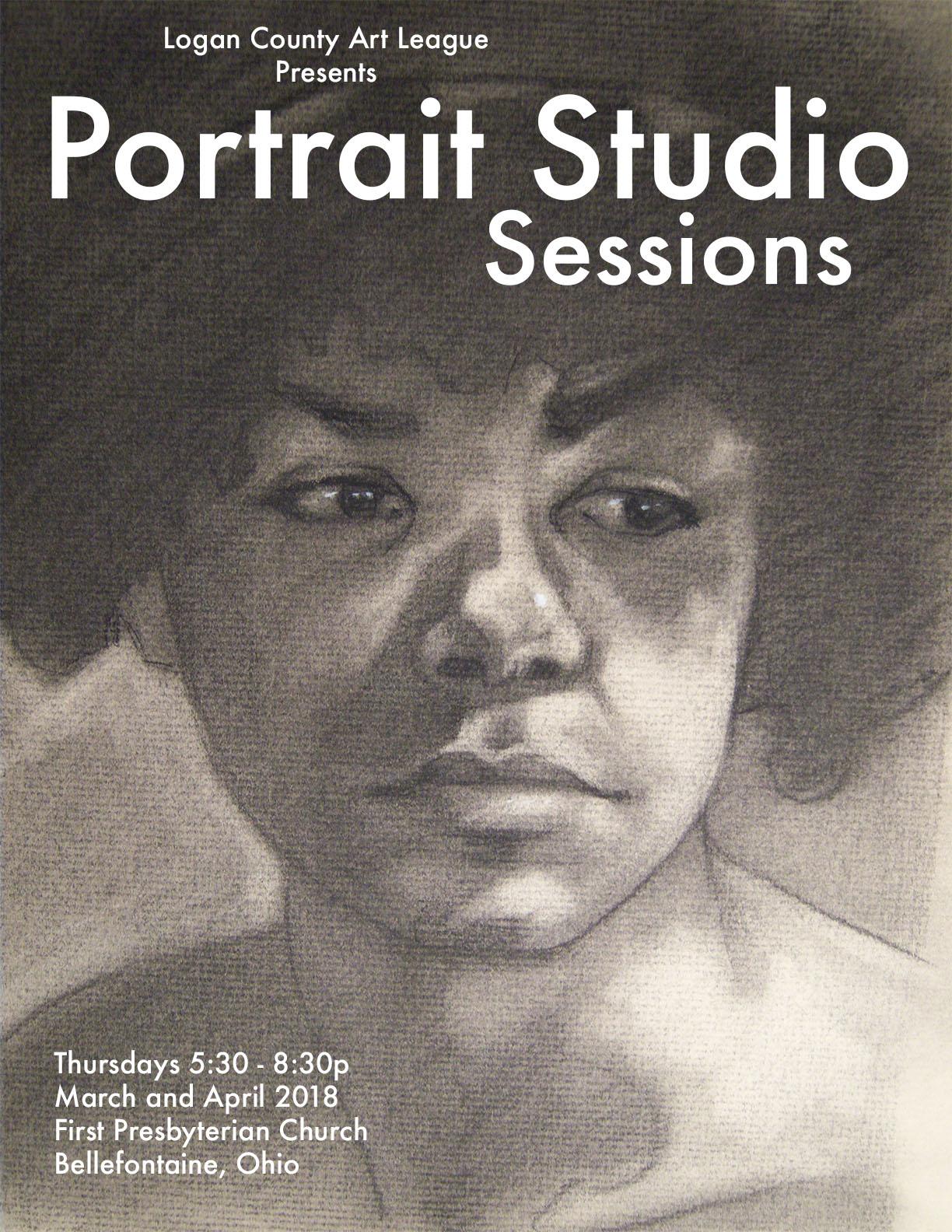 Live Model Portrait Sessions