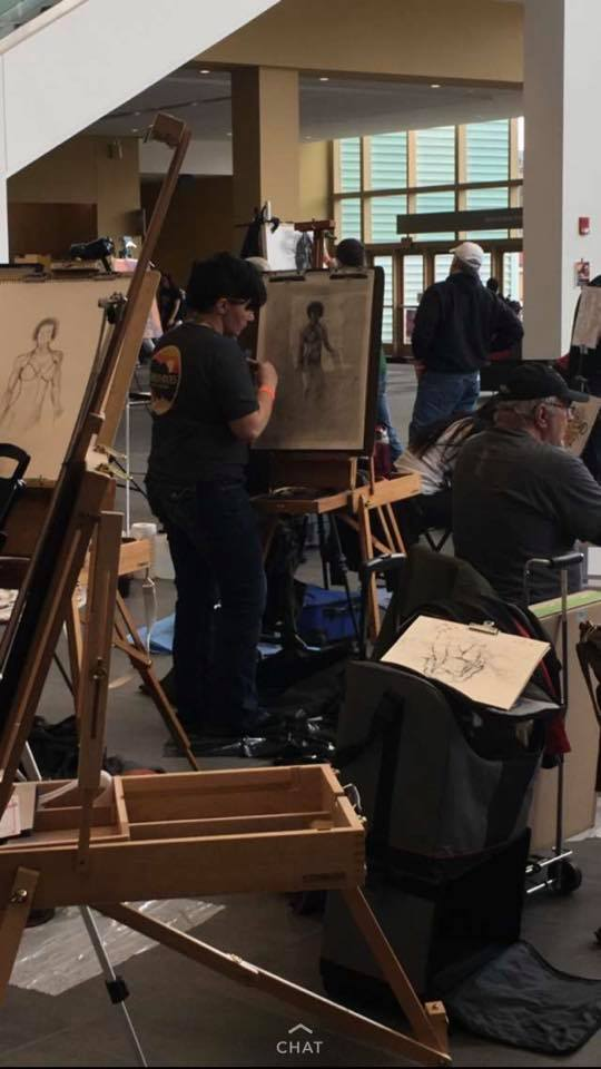 LCAL Member Competes at Art at the Arnold