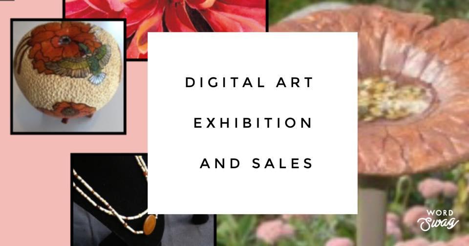 VIRTUAL Digital Art Exhibition & Sales Workshop