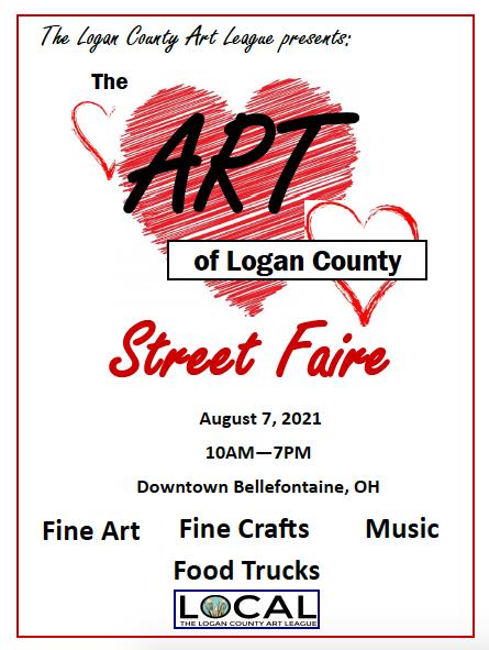 The Art of Logan County Street Faire